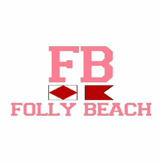 Folly Beach. Cutout