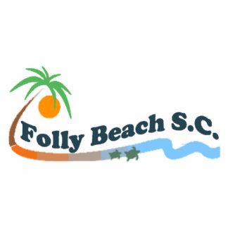 Folly Beach. Cutout