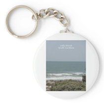 Folly Beach Keychain