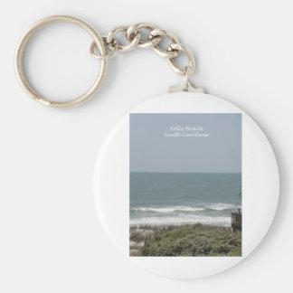 Folly Beach Keychain
