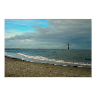 Folly Beach Lighthouse Print