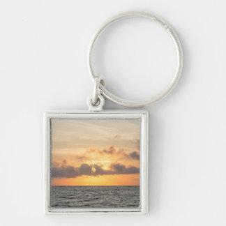 Folly Beach Morning Keychain