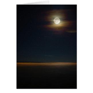 Folly Beach Night Card