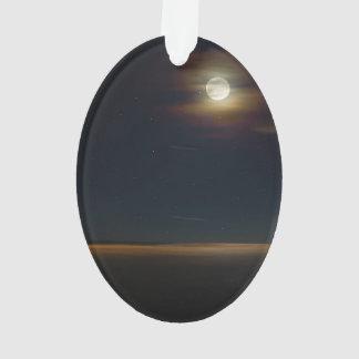 Folly Beach Night Ornament