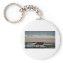 Folly Beach Pastel Keychain