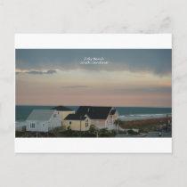Folly Beach Pastel Postcard
