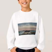 Folly Beach Pastel Sweatshirt