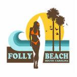 Folly Beach. Photo Cut Outs
