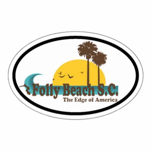 Folly Beach. Photo Sculptures