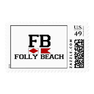 Folly Beach. Postage Stamps