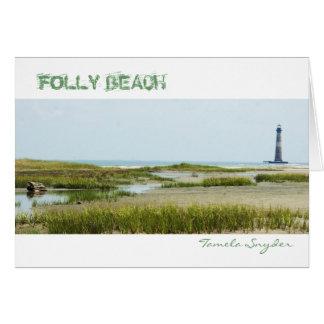 Folly Beach SC Card