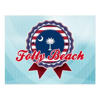 Folly Beach, SC Postcard