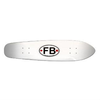 Folly Beach. Skate Board Deck