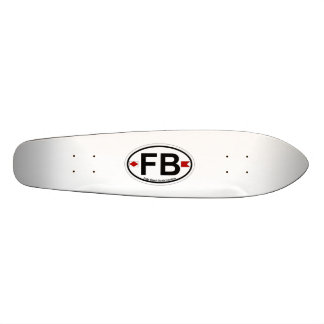 Folly Beach. Skateboard Deck