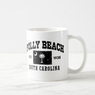 Folly Beach South Carolina Coffee Mug