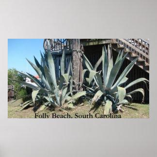 Folly Beach, South Carolina Poster