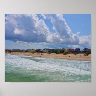 Folly Beach,South Carolina Poster