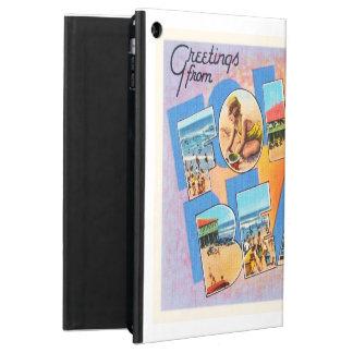 Folly Beach South Carolina SC Old Vintage Postcard iPad Air Cover