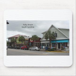 Folly Beach Strip Mouse Pad