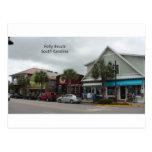 Folly Beach Strip Postcard