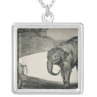 Folly of Beasts Silver Plated Necklace