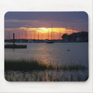 Folly River Sunset Mouse Pad