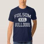 Folsom - Bulldogs - High - Folsom California Tee Shirt