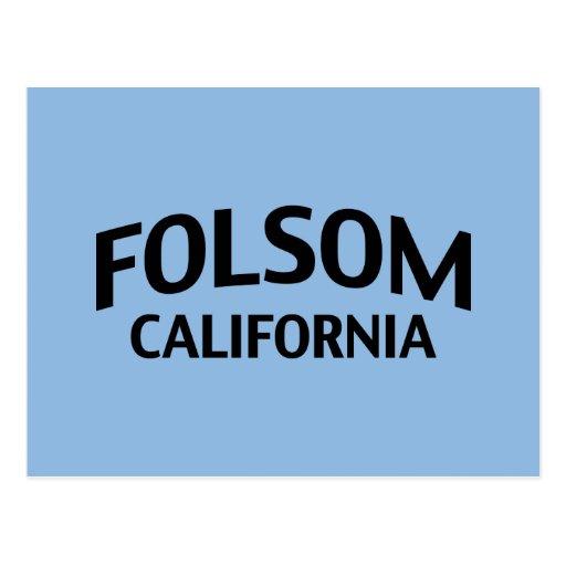 Folsom California Postcard