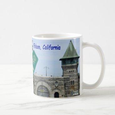 USA Themed Folsom Icon: Folsom Dam and Prison 2 Coffee Mug