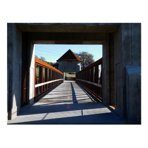 Folsom Icon Johnny Cash Trail Bridge Postcard