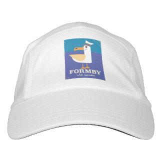 Fomby Lancashire seagull travel poster Headsweats Hat