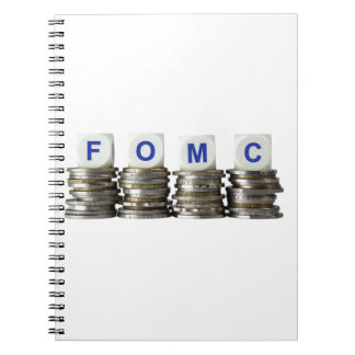FOMC - Comité federal del mercado libre Spiral Notebooks