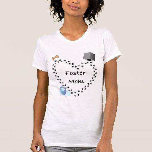 Fomente a la mamá (del perro) camiseta