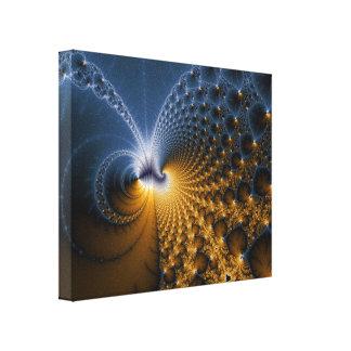 Fomente - el arte del fractal lona envuelta para galerias