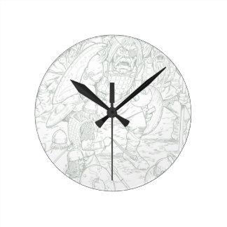 Fomorians Reloj Redondo Mediano