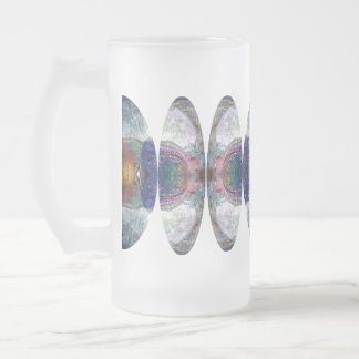 FOMORII BADGE III FROSTED GLASS BEER MUG