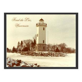 Fond du Lac Lighthouse Postcard
