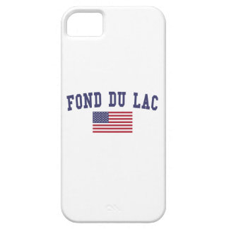 Fond du Lac los US Flag iPhone 5 Carcasa