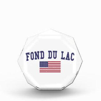 Fond du Lac US Flag Acrylic Award