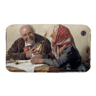 Fond Memories (oil on canvas) Case-Mate iPhone 3 Cases