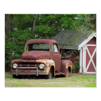 Fond Memories – The Old Truck - Poster