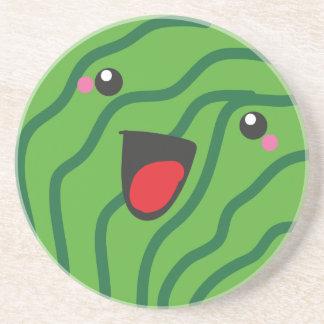 fond vattenmelon mats drink coaster