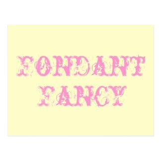Fondant Fancy Postcard