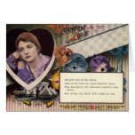 Fondest Love and Longing Military, Vintage 1918 Cards