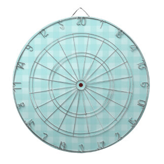 Fondo a cuadros del modelo de la guinga azul retra tablero dardos