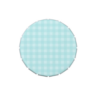 Fondo a cuadros del modelo de la guinga azul retra jarrones de dulces