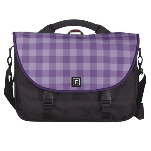 Fondo a cuadros violeta bolsas para ordenador
