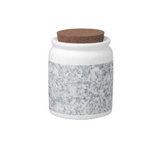 fondo abigarrado púrpura azul jarras para caramelos