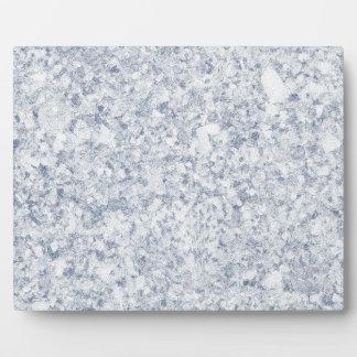 fondo abigarrado púrpura azul placas de plastico