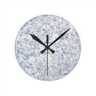 fondo abigarrado púrpura azul reloj